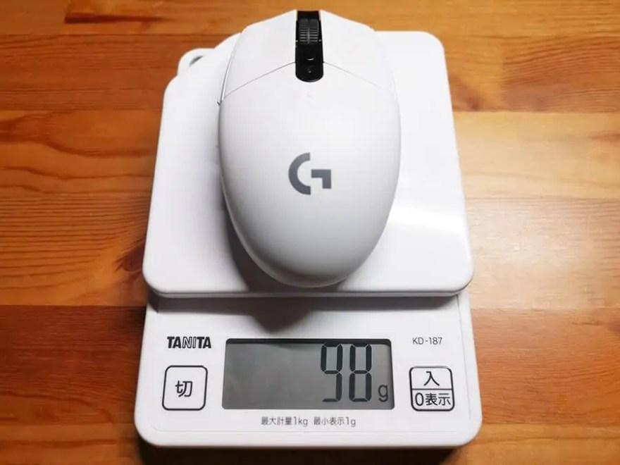 G304の重量