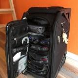 ミニマリストのスーツケース Zuca Pro Kuro LUX Travelレビュー!整理整頓・機内持込可