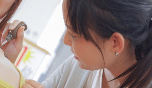 妻が福岡の自宅でヘナタトゥーを始めました。モルモット募集中!