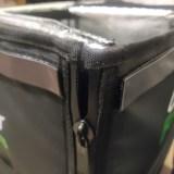 【配達バッグ改造】マジックテープ→マグネット化して配達効率UPを目指す!