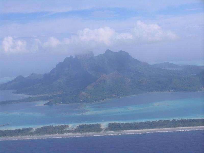 ボラボラ島の外観