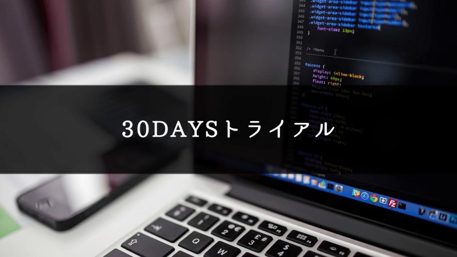 #30DAYSトライアル