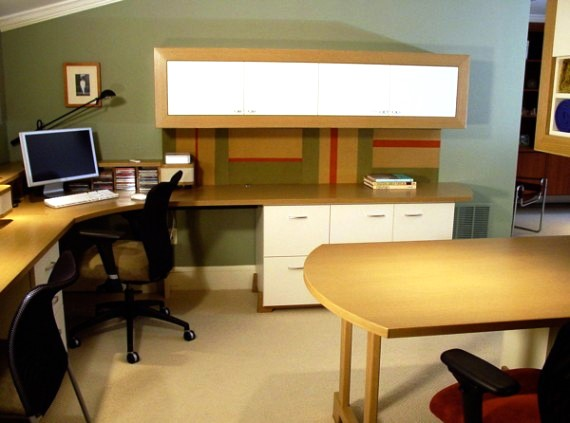 10 Contoh Desain Kantor di Rumah