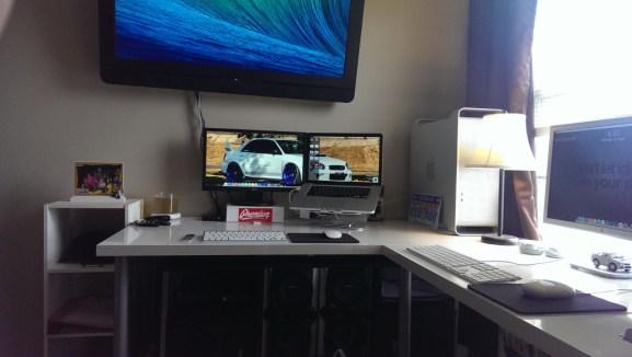 Desain Ruang Kerja Pengguna Macintosh - Ruang kerja pengguna Apple Mac Computer - KeegM480