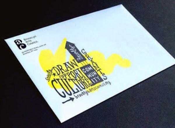 Contoh Desain Brosur Desain Kreatif - Brooklyn Arts Council 4