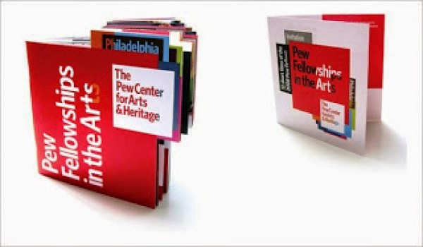 Contoh desain brosur desain kreatif - Pew Center for Arts & Heritage 3