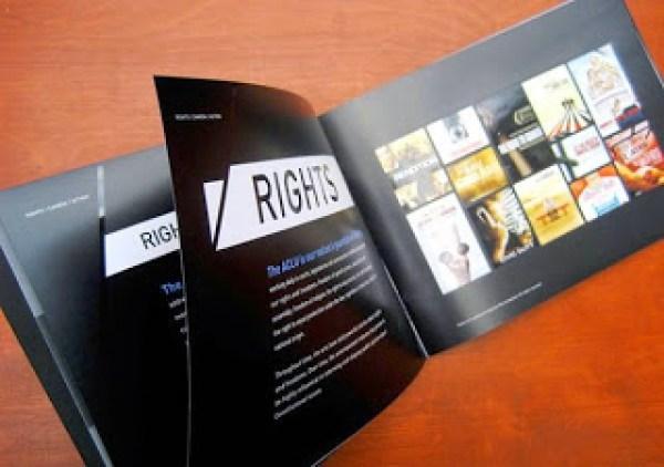 Contoh desain brosur desain kreatif - Rights Camera Action 5