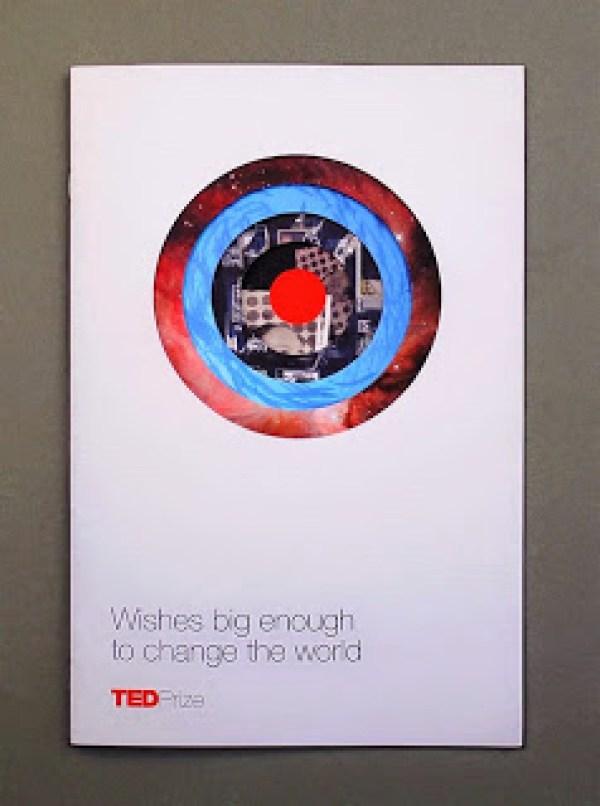 Contoh desain brosur desain kreatif - TED Creative Brochure design Ideas 01