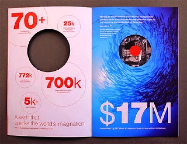 Contoh desain brosur desain kreatif - TED Creative Brochure design Ideas 04