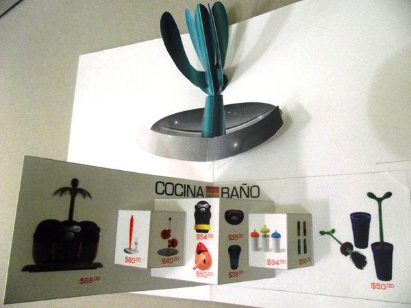 Contoh Desain Brosur Pop Up 3D Kreatif Atraktif - Desain Brosur Pop Up - Pop Up Stefano Giovannoni 2