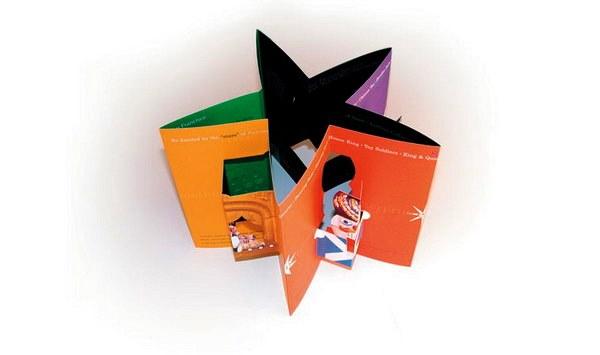 Contoh Desain Brosur Pop Up 3D Kreatif Atraktif - Desain Brosur Pop Up - San Francisco Ballet Brochure 2