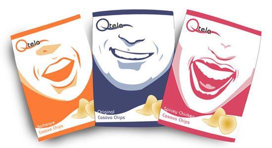 22 Contoh Konsep Desain Kemasan Produk - Konsep Desain Kemasan - Qtela Casava chips