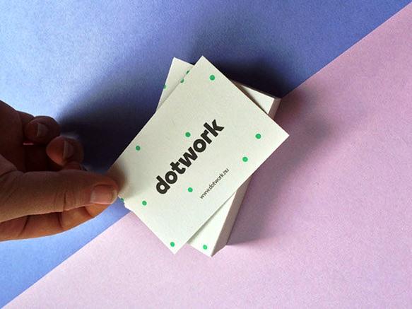 Gambar Desain Kartu Nama Terbaru - Gambar-Contoh-Desain-Kartu-Nama-Dotwork-by-Dennis-de-Vries