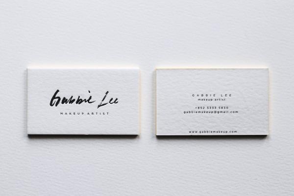 Gambar Desain Kartu Nama Terbaru - Gambar-Contoh-Desain-Kartu-Nama-Gabbie-Lee-by-Belinda-Love-Lee