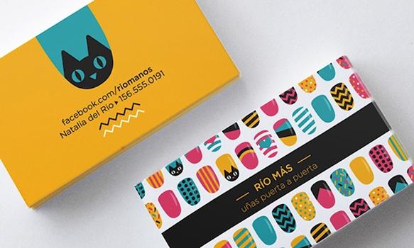 Gambar Desain Kartu Nama Terbaru - Gambar Contoh Desain Kartu Nama - Rio Mas by Melisa Sceinkman