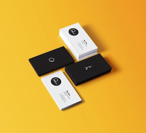Gambar Desain Kartu Nama Terbaru - Gambar Contoh Desain Kartu Nama - Self Branding by Rui Ma
