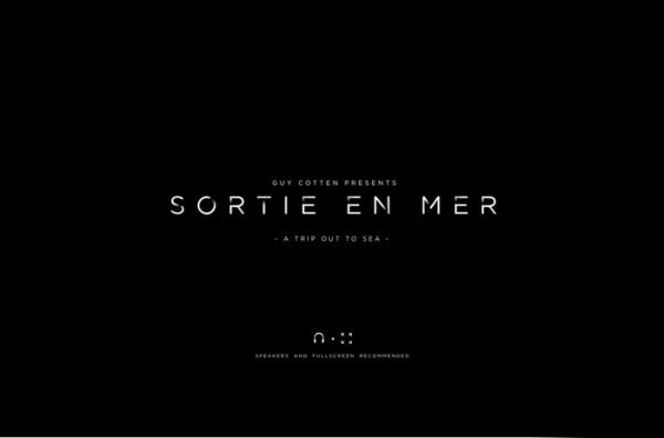 Website Desain Terbaik 2014 - Desain Website Terbaik 2014 - Sortie En Mer