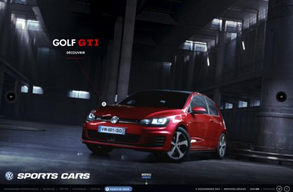 Website Desain Terbaik 2014 - Desain Website Terbaik 2014 - Volkswagen