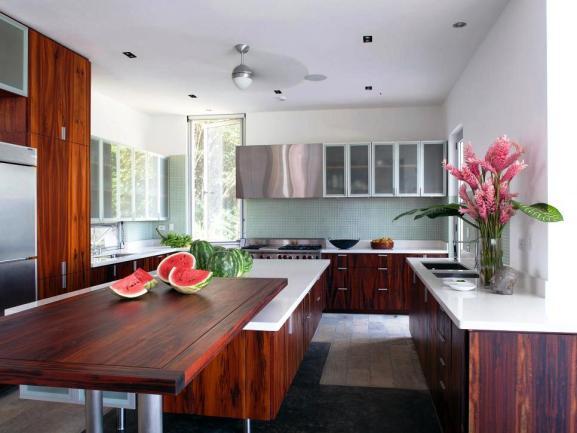 Menentukan Warna Cat Dapur Rumah - CI-SPG-Architects_Casa_Torcida-Kitchen