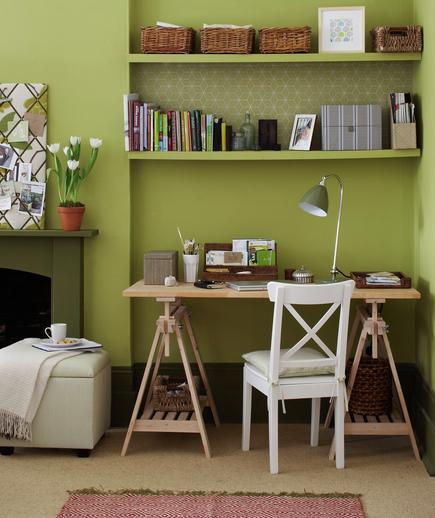 7 Tips Mendesain Kantor di Rumah - Interior kantor rumah - Corner Confidential