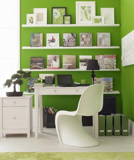 7 Tips Mendesain Kantor di Rumah - Interior kantor rumah - The Great Wall