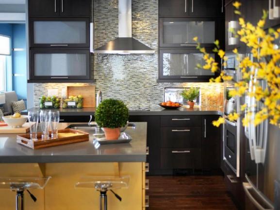 Menentukan Warna Cat Dapur Rumah - Kitchen Island Cabinets Hood
