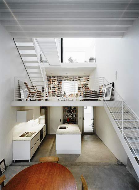Desain Interior Terbaik Untuk Rumah Sempit - Townhouse in Landskrona by Elding Oscarson 2