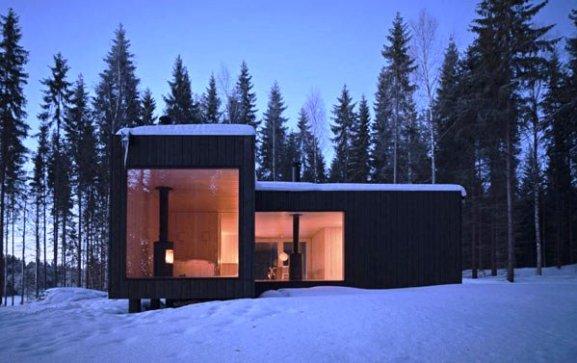Tips Merenovasi Rumah Menjadi Type Minimalis - Unusually-minimalist-four-cornered-villa-for-an-ascetic-lifestyle