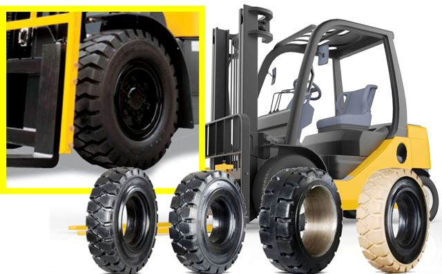 Tanda Tanda Kerusakan Ban Truck Forklift