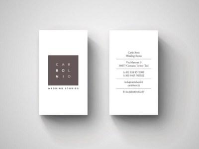 Kartu Nama dengan Desain Minimalis