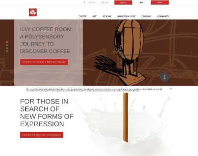 Website Bertema Kopi