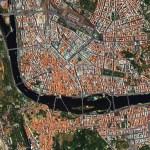 Gambar tempat di Bumi dari foto satelit