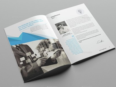 Corporate Brochure Company Profile 12 b