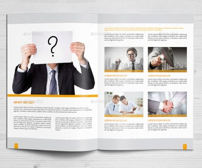 Corporate Brochure Company Profile 26 b