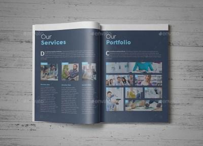 Corporate Brochure Company Profile 29 b