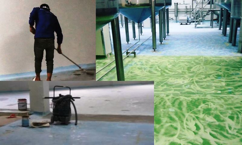 Cara Mengaplikasikan Epoxy Lantai atau Epoxy Flooring