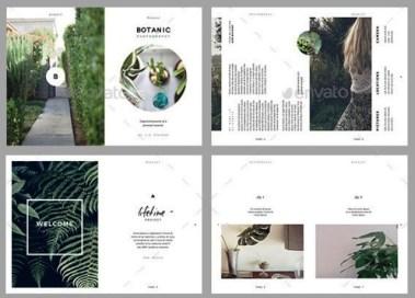 Template brosur desain terbaik untuk desainer dan percetakan