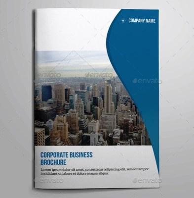 Company Profile Perusahaan Tema Biru Download