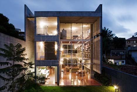Rumah Keren Yang Dirancang dengan Desain Terbuka