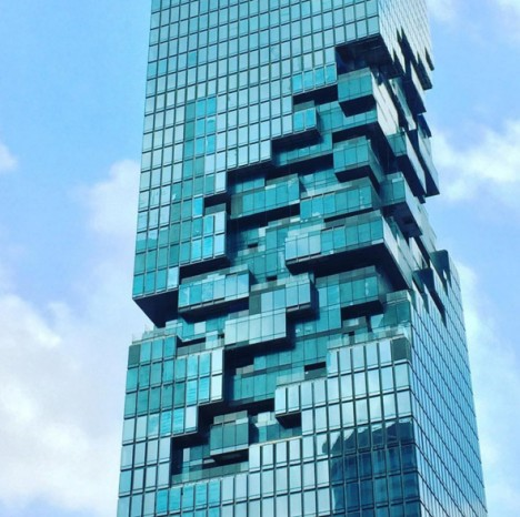 Unique Skyscraper in Its Possessions