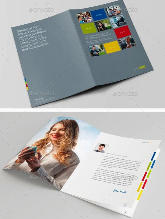 Company Profile Design Templates