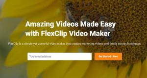 FlexClip, Online Video Editing 01