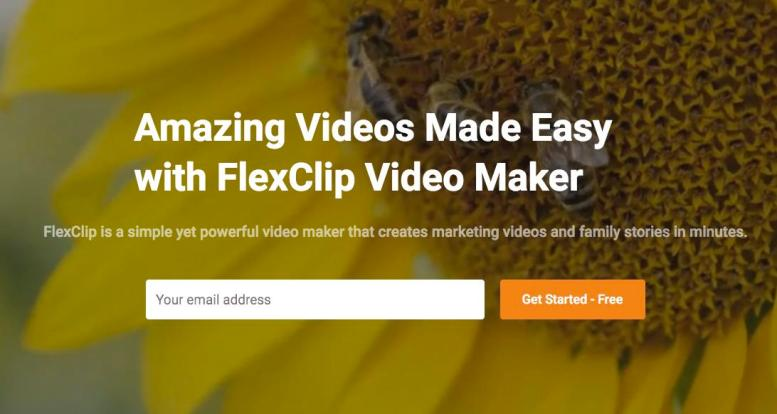 FlexClip, Online Video Editing 01