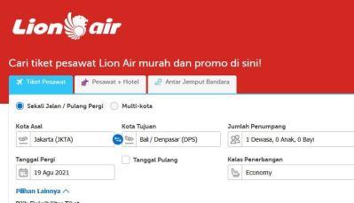 Keuntungan Beli Tiket Secara Online