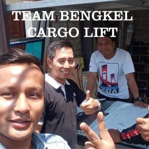 Bengkel cargo lift