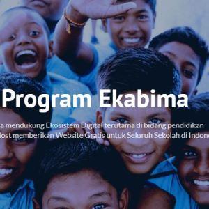 webiste sekolah gratis