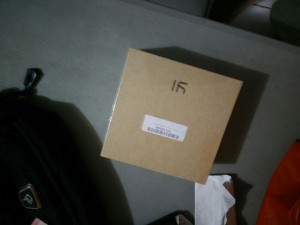 box of xiaomi yi action camera