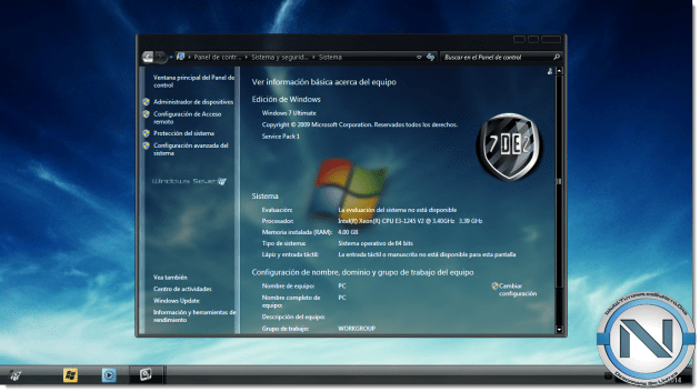 Windows 7 Black Edition - masbidin.net
