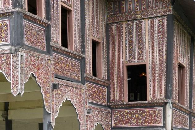Rumah Adat Minangkabau Bagonjong Rumah Gadang Berserta