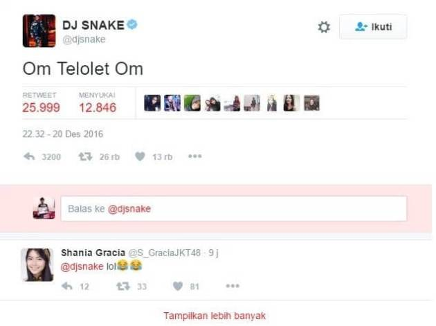 Apa itu om telolet om menghebohkan netizen dunia DJ Snake